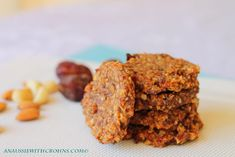 An Aussie With Crohns: Chunky Fruit & Nut Cookies (Paleo & SCD) paleo dessert dates