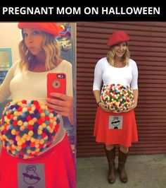 What a cute costume idea! (I admit I'm not crazy about the sign in the crotch area, though).