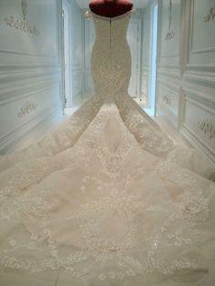 #Luxury #wedding #dress