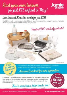 Jamie at Home is Jamie Olivers Party Plan company. Launched in March 2009 it has been going from strength to strength with just over 3600 consultants in the UK. These products are NOT available on the high street and are exclusively available through your consultant.