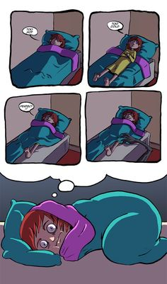 Omg i thought i was the only one who thought this!!! Lol. Cuz your blanket will totally save you…