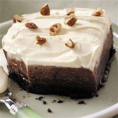 Chocolate Cream Delight Recipe