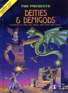Advanced Dungeons & Dragons Deities & Demigods manual (1980). I think I learned more about mythology and religion from this book than I did taking religious studies in colllege.