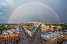 A rare double rainbow was spotted above Chicago on Monday Photo Credit: Andrew Miller/ Eye For Chicago Sister Cities, Chicago Photos, Chicago Travel, Chicago Photography, My Kind Of Town, Angels In Heaven, Fun Shots, Oh The Places You'll Go, Paris Skyline