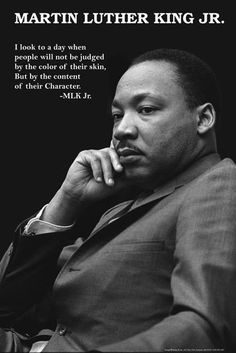 Thank you Martin Luther King, Jr. Your legacy still continues today.