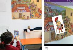 Wallame: Jugar al escondite en realidad aumentada - INTEF Apps, Software, Polaroid Film, Ideas, Augmented Reality Apps, Shape Activities, Teacher Education, Math Skills, Special Needs
