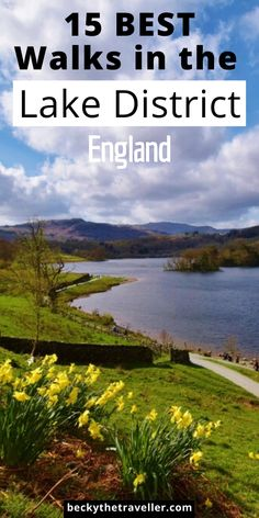 15 Best Walks in the Lake District (Includes Easy + Short Walks) - Becky the Traveller Beautiful Places To Visit, Cool Places To Visit, Places To Go, Cumbria, Lake District Walks, England Lake District, Lake District Holidays, Hiking Routes, Hiking Tips