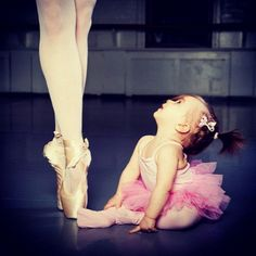 Omg sooo adorable!!! This is how i felt about ballet when i was little. I saw a dancer and i said to my mom i want to do that! :) <3