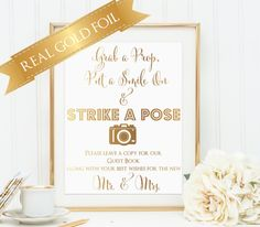 Wedding Photobooth Sign Photo Booth Sign Spring by PoppyandErie