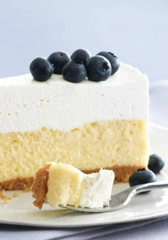 PHILADELPHIA Vanilla Mousse Cheesecake -- This is not your mother's cheesecake recipe: It's the classic dessert topped with a fluffy, whipped layer of vanilla mousse. Sorry, Mom...but you always said to go the extra mile.