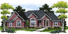 ranch brick house plans | ... house plan prices order this plan e mail house plan designer s plans