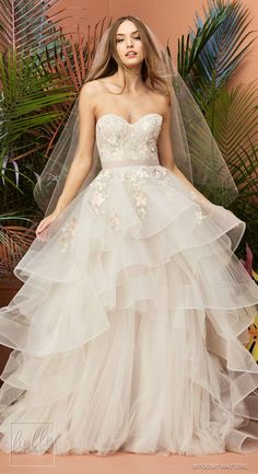 """Wtoo By Watters Wedding Dresses Fall 2018: """"At First Sight"""" Bridal Collection - Yocelyn Muscat Ball gown wedding dress 
