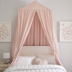Create a cozy nook in your space with our Oversized Fabric Canopy. Perfect for a reading corner or over the bed, this canopy will update the space in minutes. Girls Bedroom Canopy, Teen Girl Bedrooms, Big Girl Rooms, Bedroom Wall, Kids Bedroom, Bedroom Decor, Bedroom Ideas, Master Bedroom, Master Suite