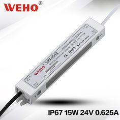 (LPV-15-24) 15W 24VDC Waterproof Led Switching Power Supply 24V led driver 15w #Affiliate