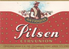 1940 Recuento publicitario Cervunion Beer Coasters, Beer Label, Beer Bottle, Lettering, Retro, Collection, David, Drinks, Vintage Food Labels
