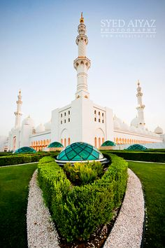 Sheikh Zayed Grand Mosque Abu Dhabi - UAE