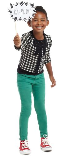 Pop It Cardi Outfit   FabKids >> This is too cute!
