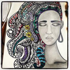 I draw when Im bored #art #drawing #sketch