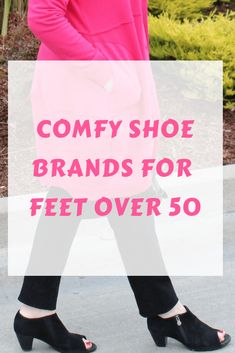 Comfy Shoe Brands for Feet Over 50 By A Well Styled Life You don't have to sacrifice style for comfort in your shoes. Jennifer of A Well Styled Life rounds up which brands offer stylish comfy shoes for feet over How To Wear Cardigan, How To Wear Leggings, Best Leggings, Over 50 Womens Fashion, Fashion Over 40, 50 Fashion, Fashion Tips, Fashion Shoes, Fashion Black