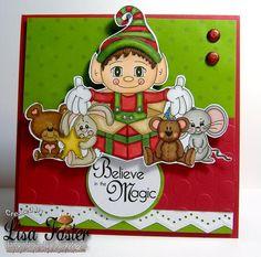 Elf Surprise and sentiment from www.digitaldelightsbyloubyloo.com