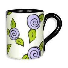 Love the simplicity of this design. Pottery Painting, Ceramic Painting, Diy Painting, Pottery Designs, Mug Designs, Pottery Ideas, Pottery Mugs, Ceramic Pottery, Painted Pottery