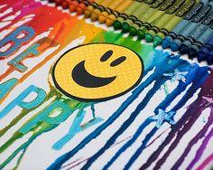 Creative Melted Crayon Art / Summer Camp | Fiskars