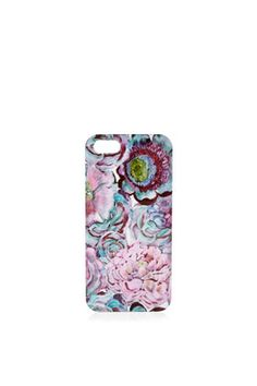Floral iPhone 5 Shell #iphone5 #topshop #floral #print #love