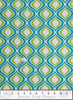 Outdoor Fabric by the Yard  Richloom Zinger Peacock Modern Upholstery Fabric Drapery Fabric blue green white Home Decor Fabric