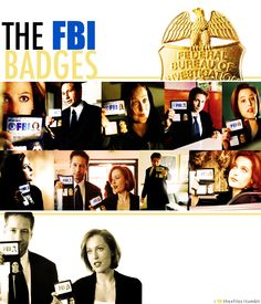 No one flashed their badges better then Mulder and Scully