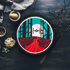 Fighter in the Woods Patch (Free Shipping US)