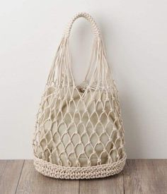 Diy Crafts - Crochet Farmers Market Bag pattern by Brittany Coughlin Bag Crochet, Crochet Market Bag, Crochet Shell Stitch, Crochet Handbags, Cotton Crochet, Filet Crochet, Cotton Cord, Cotton Bag, Tote Pattern