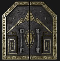 Mountain Lance badge...replace shield in center with unit symbol
