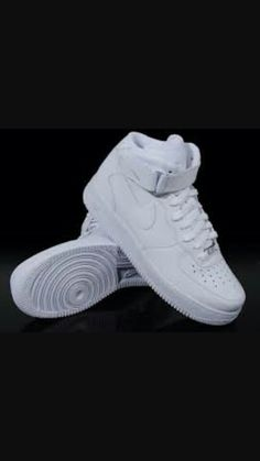 HI everyone, this is june, and I am going to post about nike Air Force one. History of the Air Force one. Nike Air Force Ones, Nike Air Force High, Nike Air Max, Zapatillas Nike Air Force, Tenis Nike Air, Nike Af1, Nike Huarache, White Nike High Tops, Baskets