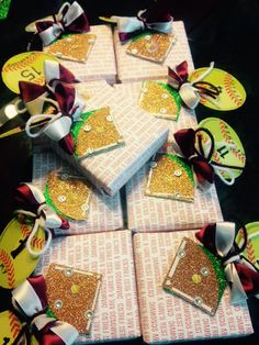 Wrapped seniors gifts