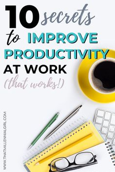 10 Tips On How To Improve Productivity At Work. If you're looking on how to be more productive and the things to do to on your day routine to be more productive at work, here's a post for you! I'll share some effective hacks for you to try today to be a lot more productive at work. #productivity #howtobeproductive #productivityhacks #productivitytips #selfdevelopment Self Development, Personal Development, Self Motivation Books, Apply For College, Productive Things To Do, Improve Productivity, Career Inspiration, Resume Tips, Professional Women