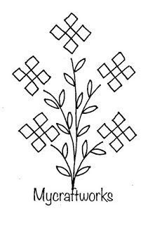 Kasuti Embroidery, Hand Embroidery Flowers, Hand Embroidery Patterns, Embroidery Stitches, Embroidery Suits, Block Printing Designs, Handmade Embroidery Designs, Motif Design, Neck Design