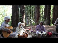 Snatam Kaur - Live in the Redwoods with her new band,her voice so crystal clear,strong,beautiful, sacred~