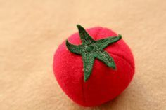 One Little Imp: Felt Tomato free pattern and tutorial