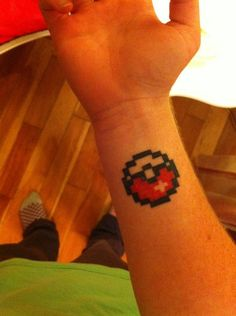 Pokemon Tattoos - pokéball
