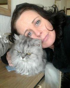 Met mijn allerliefste vriendje Simba. Pfff, wat mis ik hem nog steeds zeg :(
