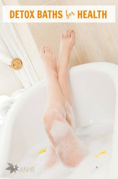 A detox bath is great to boost your health. Learn why and how to take a detox bath.