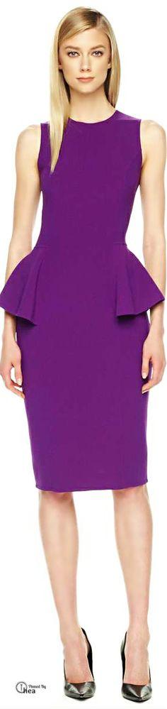 Michael Kors ● Peplum Dress