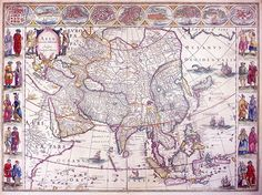 Dutch Map of Asia