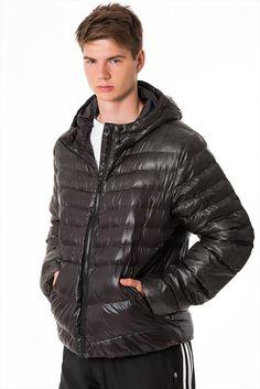 Erkek Mont - Sdp Jacket - adidas | Trendyol Mens Raincoat, Pvc Raincoat, Cool Jackets, Winter Jackets, Puffer Jackets, Nylons, Black Down, Adidas Outfit, Hot Boys