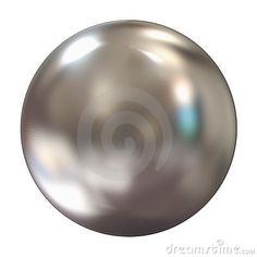 Esfera de plata 3d
