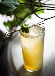 ★★★★☆ - Airmail Cocktail — 1½ oz Añejo rum - 3⁄4 oz Lime juice - 1 oz Honey syrup (1 part honey to 1 part water) - 1 oz Prosecco - Garnish: eyedropper of Angostura bitters & Mint leaf –– From http://www.kindredcocktails.com/cocktail/airmail?f=1