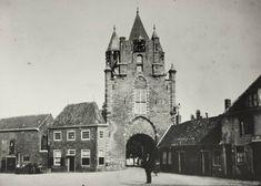 Haarlem Amsterdamse Poort. De Poort maakte deel uit van de stadsmuur en vormde een buitendeur naar de boze wereld.