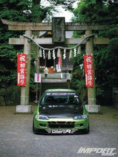 Honda Ej1 Civic Coupe Front