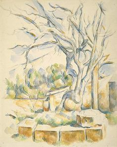 paul cezanne watercolors | Cezanne Watercolors