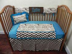 Baby Bedding Crib Set Easton New! : Just Baby Designs, Custom Baby Bedding Custom Crib Bedding Custom Nursery Bedding